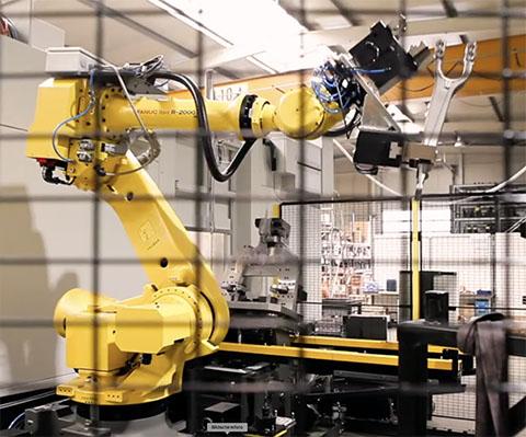 Achslagerbock Automatisation