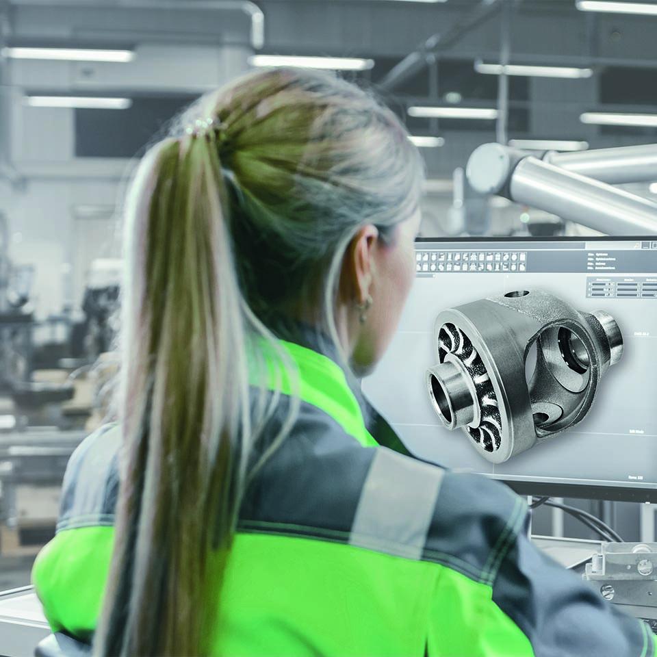 Werkeugmaschinen von HK-CON: Differentialgetriebe-Gehäuse