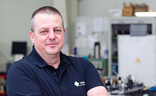 Steffen Salfer – HK-CON Lohnfertigung Anwendugnstechnik und Arbeitsvorbereitung